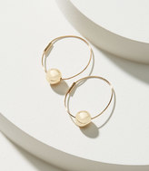 LOFT Ball Hoop Earrings