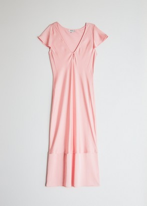 Need Women's Baily Maxi Dress in Pale Coral, Size Extra Small