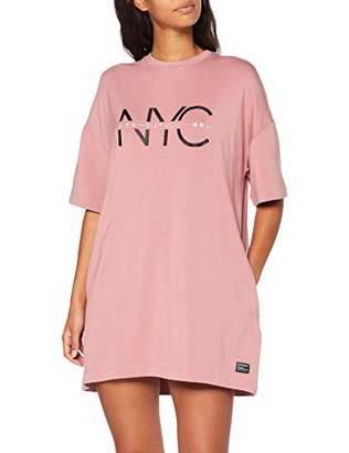 Superdry Women's Boyfriend T-Shirt Dress,Small