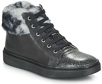 Catimini MARCELLE girls's Shoes (High-top Trainers) in Black