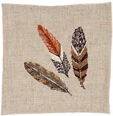 Coral & Tusk Brown Feather Cocktail Napkin