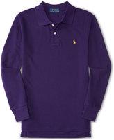 Ralph Lauren Little Boys' Long-Sleeve Polo