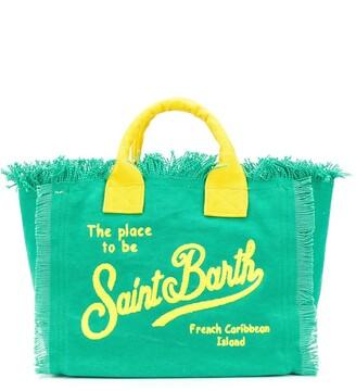 MC2 Saint Barth Logo Top-Handle Tote