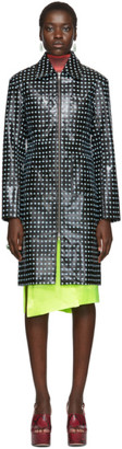 Supriya Lele Black Cross Print Jacket