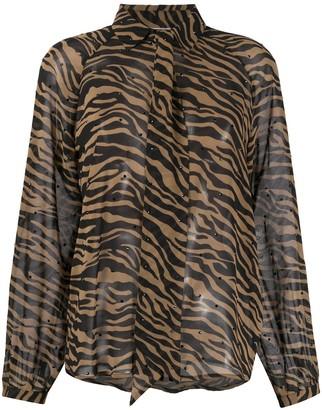 Liu Jo Tiger Print Shirt