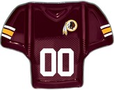 Redskins Unbranded Washington Glass Jersey Chip And Dip