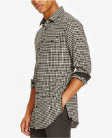 Kenneth Cole Reaction Men's Long Check Flannel Shirt