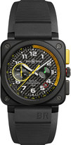 Tissot BR0394-RS17 ceramic and rubber chronograph watch