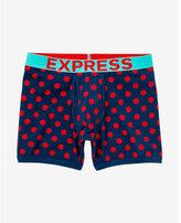 Express polka dot print boxer briefs
