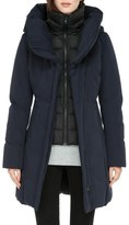 Soia & Kyo Water Resistant Hooded Down Walking Coat