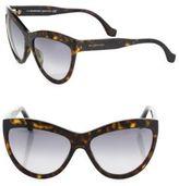 Balenciaga 60MM Cat's-Eye Sunglasses