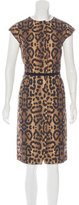 Giambattista Valli Silk Printed Dress