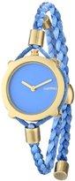 RumbaTime Women's Gramercy Placid Blue Analog Display Japanese Quartz Blue Watch