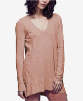 Free People Anna V-Neck Long-Sleeve T-Shirt