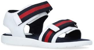 Gucci Kids Gauffrette Sandals