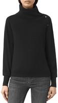 AllSaints Erin Snap Sweater
