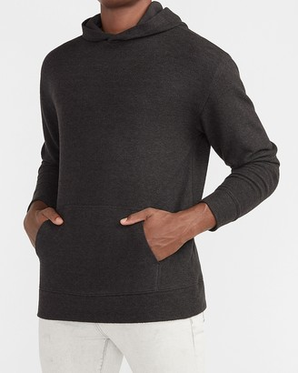 Express Solid Knit Hoodie