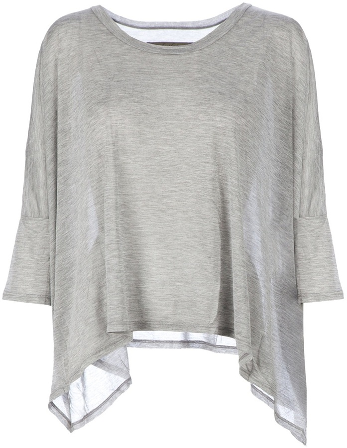 Enza Costa draped t-shirt