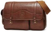 Ghurka Fielding No. 137 Leather Messenger Bag, Vintage Chestnut