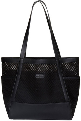 Mocha Summer Beach Bag - Black