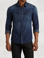 John Varvatos Denim Work Shirt