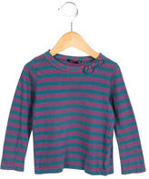 Little Marc Jacobs Striped Long Sleeve Top