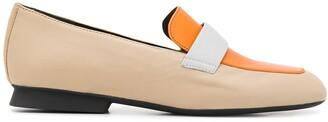 Camper TWS mismatched loafers