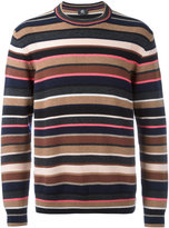 Paul Smith striped knit jumper - men - Lambs Wool - M