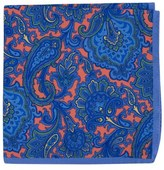 Ted Baker Paisley Silk Pocket Square