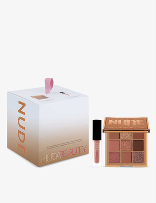 HUDA BEAUTY Mini Nude Holiday Kit gift set