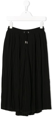 Diesel Pteata pleated wide-leg trousers