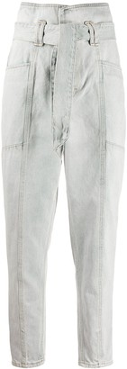IRO Vieno high-waisted tapered jeans