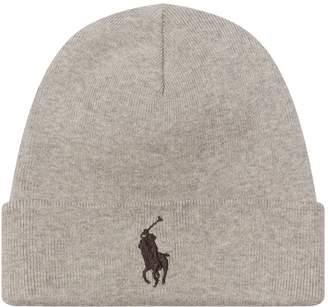 Polo Ralph Lauren Cotton Knit Beanie Hat