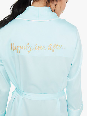 Kate Spade Bridal Happily Ever After Robe