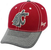 Top of the World Washington State Cougars High Post Stretch-Fit Cap