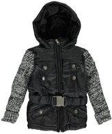 "Chillipop Little Girls' Toddler ""Puffy Knit"" Jacket"