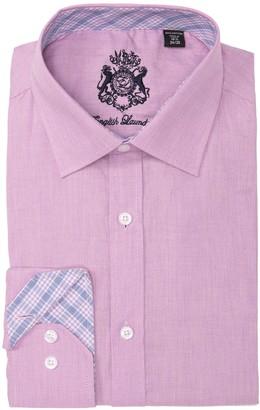 English Laundry Texture Solid Dress Shirt