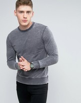 Brooklyn Supply Co. Brooklyn Supply Co Burnout Crew Neck Sweater