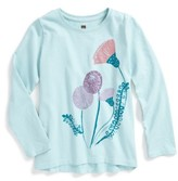 Tea Collection Toddler Girl's Thistle Tee