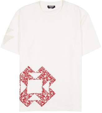 Calvin Klein geometric print tee shirt