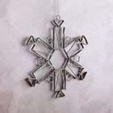 west elm Metal Snowflake Ornament