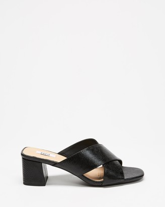 Dazie - Women's Black Heeled Sandals - Fizzy Heels - Size 5 at The Iconic