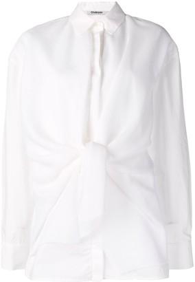 Chalayan Knot Detail Shirt