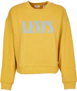 Levi's Levis Yellow Crewneck With Logo