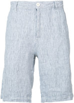 Onia striped Austin shorts - men - Linen/Flax - S