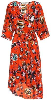 Diane von Furstenberg Eloise floral silk dress
