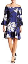 Bobeau Floral Bell Dress