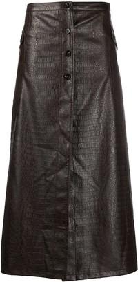 Soulland Cilla button-up skirt