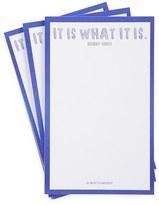 Ben's Garden 'It Is What It Is' Lined Scribble(TM) Notepads - Pink