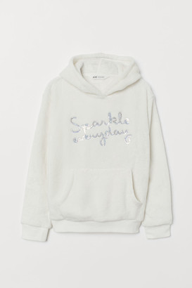 H&M Pile hooded top